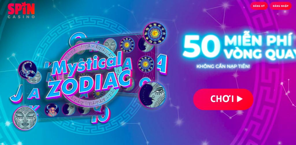 Phần thưởng chào mừng của Spin Casino