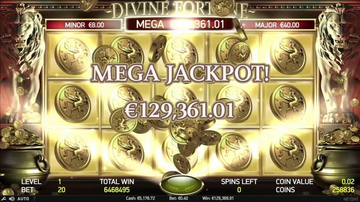 Divine Fortune Mega win