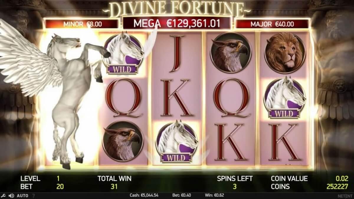 Divine Fortune Respins
